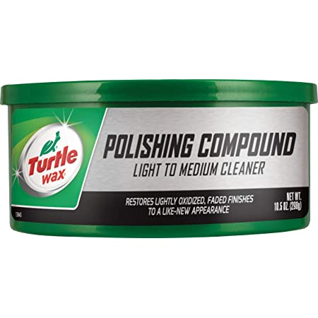 Turtle Wax T-241A Polishing Compound & Scratch Remover - 10.5 oz. , White