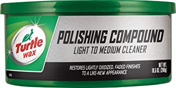 Turtle Wax T-241A Polishing Compound & Scratch Remover - 10.5 oz. , White: image