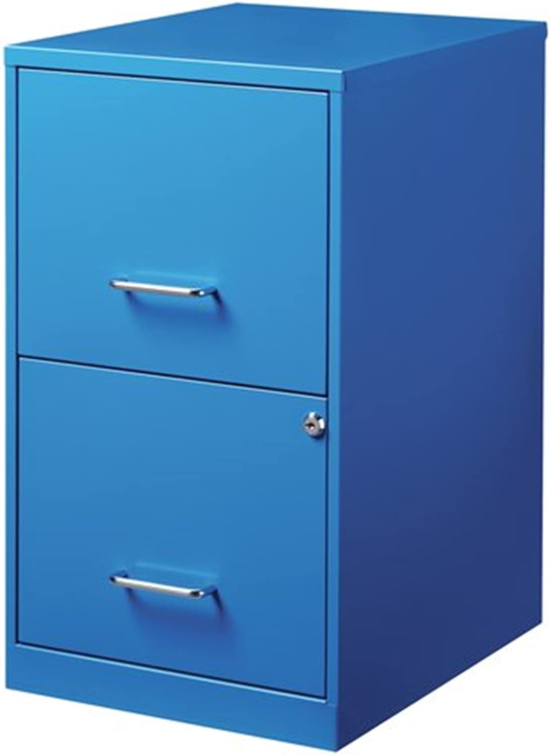 Varick Gallery Chaidez 2 Drawer greenical Filing Cabinet (bluee)