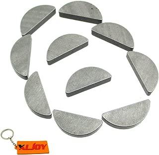 XLJOY 10 PCS Crankshaft Flywheel Woodruff Key For HONDA GX120 4hp,GX160 5.5hp,GX200 6.5hp engine