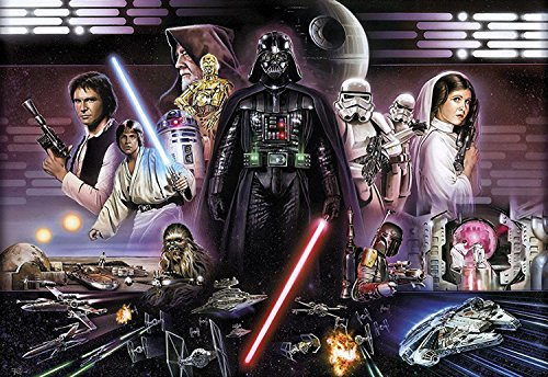 Fototapete Star Wars Darth Vader Collage, 368 x 254 cm