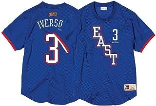 Allen Iverson Philadelphia 76ers #3 NBA 2004 All Star East Mesh Crew Neck