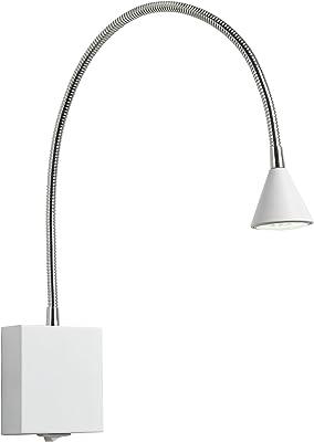 Lucide BUDDY - Lampe De Chevet - LED - 1x3W 4000K - Blanc