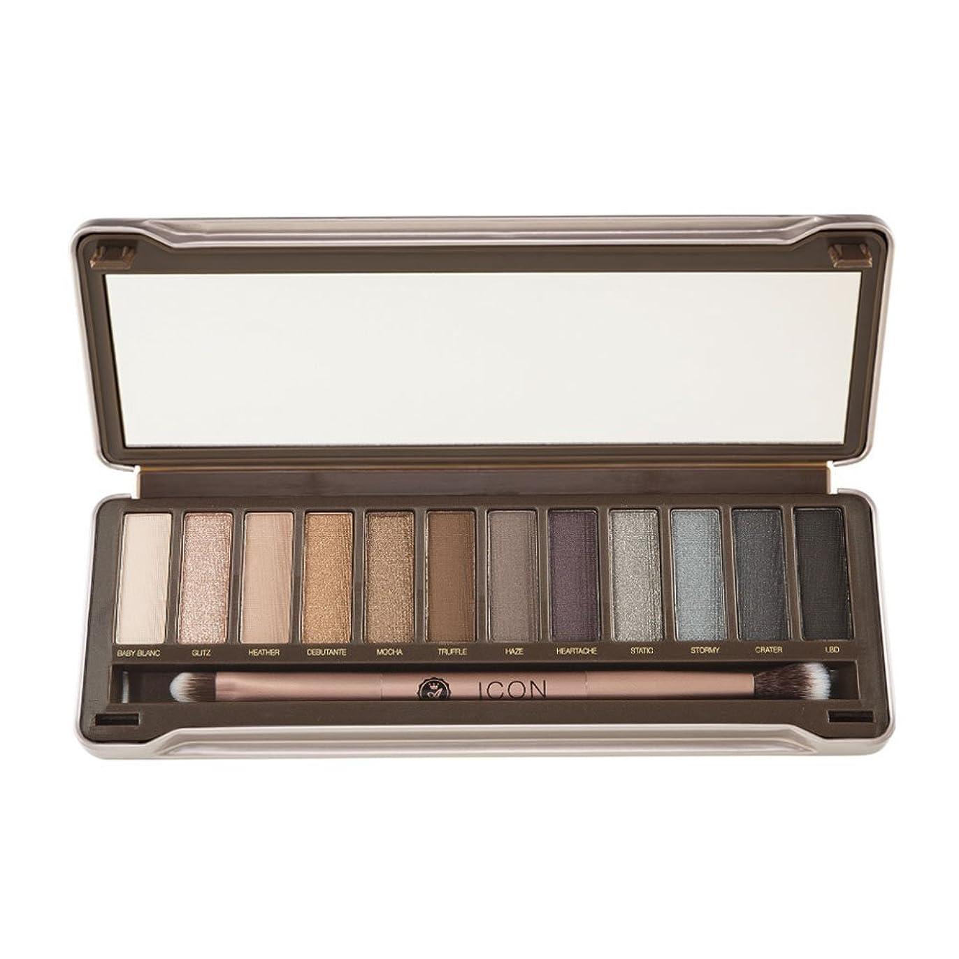 柔らかいスキル縫い目ABSOLUTE Icon Eyeshadow Palette - Noir Garden (並行輸入品)