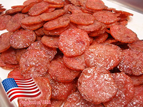 Made to Order Fire-Grilled Asian Minced Pork Jerky (Original Flavor - Medallion Shaped - 12 Ounce) aka Singapore Bak Kwa - Los Angeles Times 'Handmade Gift' Winner