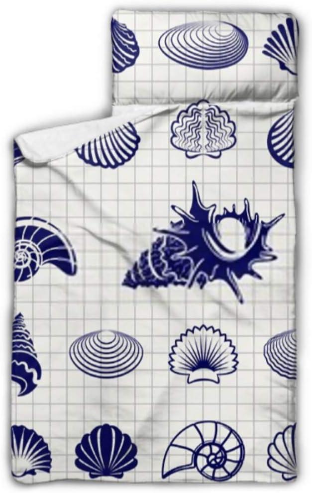 New life HJSHG Kids Sleeping overseas Bag Sketch Shells Vector Sh Illustration Sea