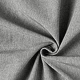 Fabulous Fabrics Softshell anthrazit, Melange, 140cm