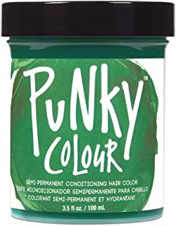Punky Alpine Green Semi Permanent Conditioning Hair Color, Vegan, PPD and Paraben Free,..