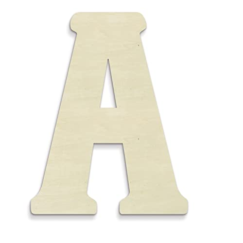 Big Wooden Letter Amazoncom
