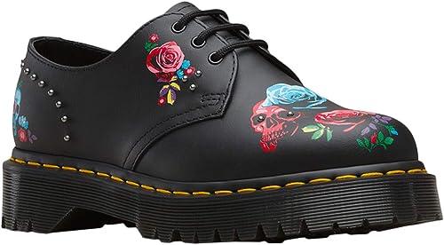 Dr. Martens 1461 Bex Rose Rose Fantasy 24422001, Chaussures de Ville