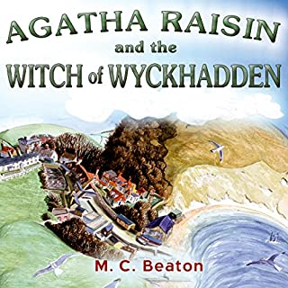 Couverture de Agatha Raisin and the Witch of Wyckhadden