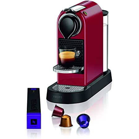 Krups Nespresso machine à café Machine à expresso autonome CITIZ rouge