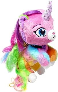Rainbow Butterfly Unicorn Kitty Plush 8 inch