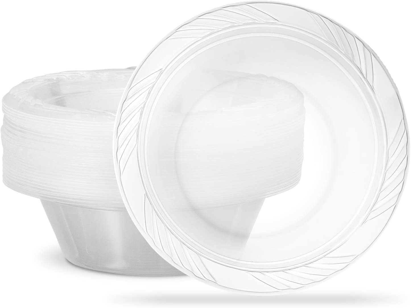 Plasticpro 5 ounce Premium Crystal Clear Disposable 5 ☆ popular Dess Max 72% OFF Plastic