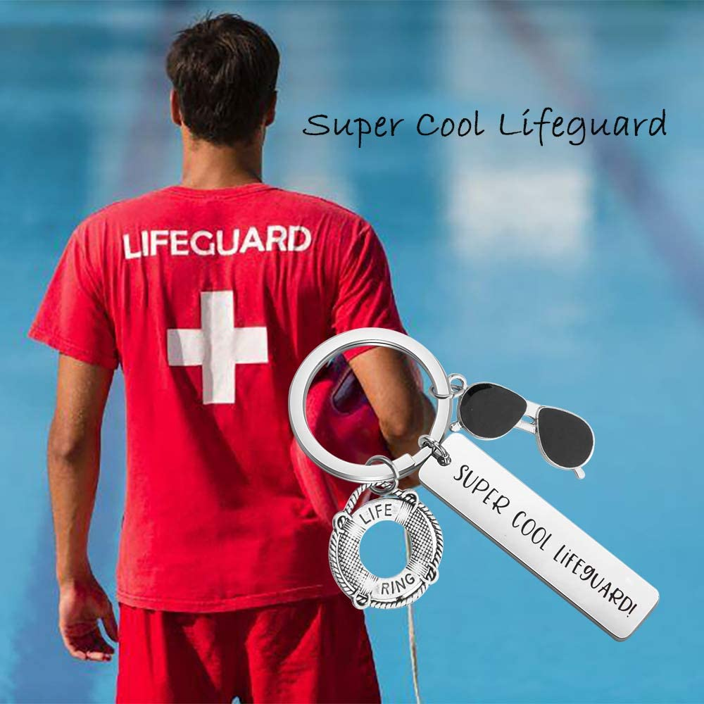 gaixample.org Lifeguard Gift Life Preserver Keychain Life Ring ...