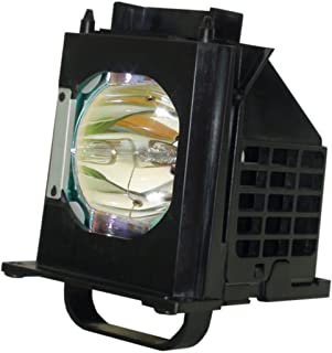 Aurabeam 915B403001 Professional Mitsubishi TV Lamp Replacement for WD-65C8 Genuine Original Philips Bulb with Housing