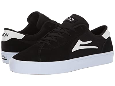 Lakai Flaco II (Black Suede) Men