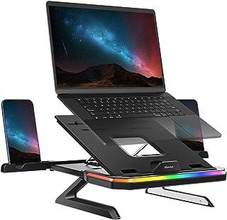 llano Laptop Ständer, Ergonomisch Laptop Riser, Multi-Angle Verstellbar Notebook Ständer, kompatibel für Laptops (10-15.6Z...