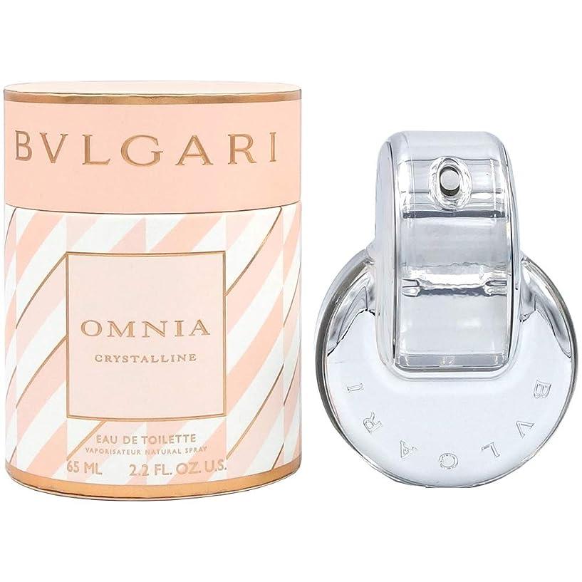 投資テザー十分ですブルガリ BVLGARI オムニア クリスタリン EDT SP 65ml キャンディーコレクション [並行輸入品]