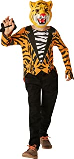 (Small Ages 3-4 Years) - Rubie's Official Tiger Who Came to Tea Fancy Dress Boys Animal Zoo World Book Day Kids Costume (6...