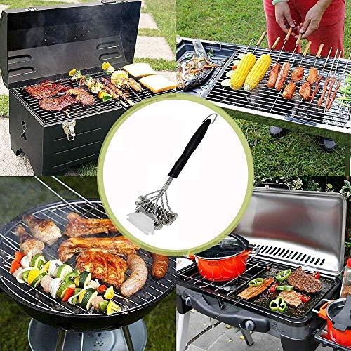61IOpiPzwSL. SL500  - LHD Safe Grill Brush - Borste Kostenlose BBQ Grill Cleaner/Scraper - 18 '' Edelstahl-Grill-Reinigungs-Wäscher Grill Zubehör for Clean All Grill Grates
