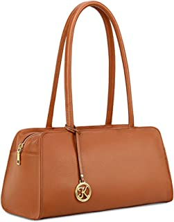 Leather Purses and Handbags for Women Small Top-handle Tote Bag Satchel Shoulder Bags