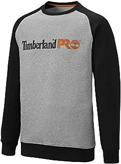 Timberland Pro Mens Honcho Sport Raglan Sweatshirt Grey/Black