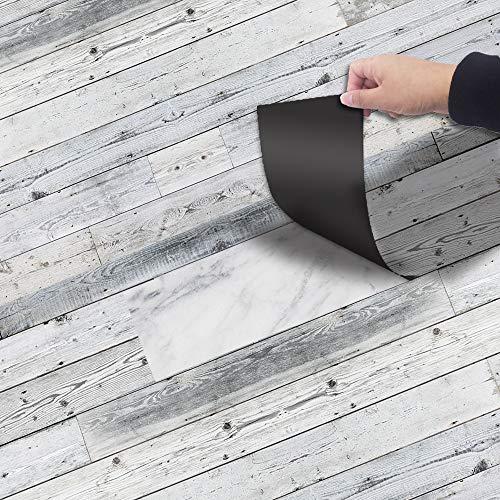 RevêTement de Sol en Vinyle Autocollant,Autocollants ImperméAbles AntidéRapants pour Carrelage,Escaliers Salle de Bain Plancher Sticker Carrelage Mural,Salon Chambre HôTel DéCor à La Maison