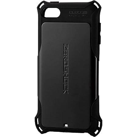 エレコム iPod Touch 【第6世代 / 第7世代】 ケース 衝撃吸収 ZEROSHOCK スタンダード ブラック AVA-T17ZEROBK