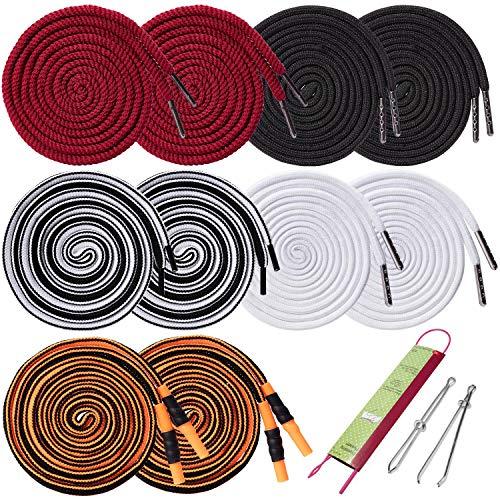 Replacement Drawstrings - 10Pcs Sweatpants Shorts Hoodies Drawstring with 3pcs Drawstring Threader, 51.2' Long