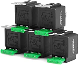 Eyourlife 5 Pack 30/40 AMP Auto Relay Harness with Sockets Wires, Spdt 12V Bosch Style Automotive Relay