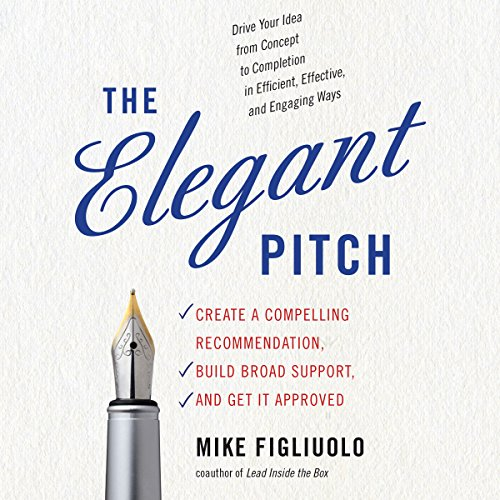 The Elegant Pitch audiobook cover art