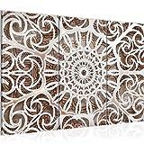Tabla decoración de la pared de la mandala - 120 x 80 cm Vista de impresión en...