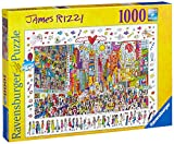 Ravensburger James Rizzi: Times Square 1000 Piece Jigsaw Puzzle for Adults – Every Piece is Unique, Softclick Technology Means Pieces Fit Together Perfectly
