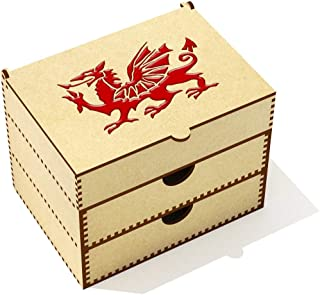 'Welsh Dragon' Vanity Case / Makeup Box (VC00024923)