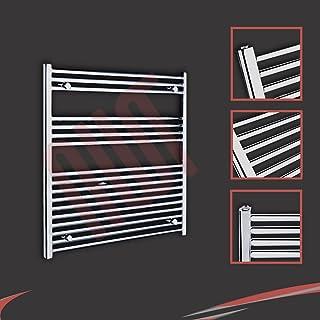 900 mm (w) x 900 mm (h) - Piso Radiador toallero cromado horizontal Diámetro: 22 mm, Bar Modelo: 3 + 4 + 10