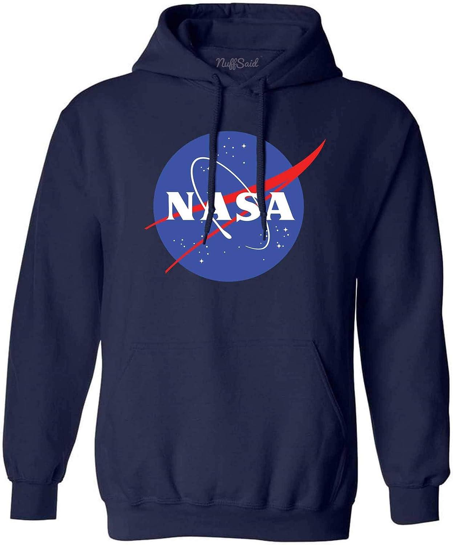 NuffSaid NASA Meatball Logo Worm Hooded Low High quality price Sweatshirt Sweater Pullo