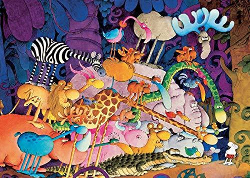 72Tdfc Puzzles 1000 Teile Erwachsene Holz Ölgemälde Die Landschaft Lernspielzeug Für Kinder Jugendliche Klassisches 3D Hd-Poster/ Tarzan