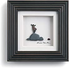 DEMDACO Sharon Nowlan The Little Things Espresso Finish 6 x 6 Dimensional Framed Wall Art Plaque
