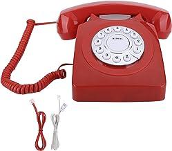 $44 » V BESTLIFE Antique Telephone Home Decor,Landline Corded Phone Classic European Retro Phone Home Vintag Multifunction High ...
