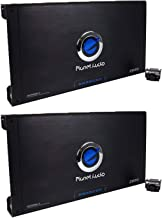 Planet Audio 2600W 2-Channel Car Amplifier Amp AC26002 + Remote (2 Pack)
