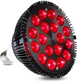 HIGROW 36W All Deep Red 660nm LED Grow Light Bulb for Indoor Plants Flowering Bloom and Fruiting, Grow Spectrum Enhancement