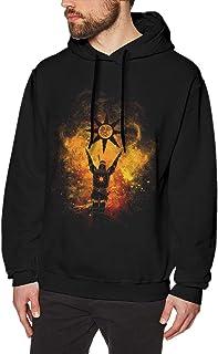 Praise The Sun Men's Printed Hoodie Pullover Hip Hop Long Sleeve Sweatshirt