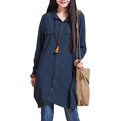 on sale uk availability skilful manufacture Ladies Shirt Dresses: Amazon.co.uk