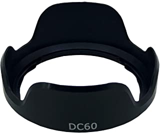 TUYUNG DC60 Lens Hood Shade for Canon PowerShot SX30 SX40 SX50 (Replaces Canon LH-DC60)