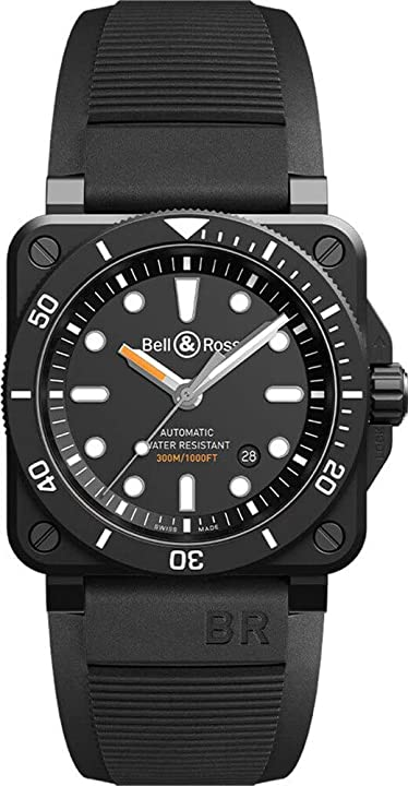 Bell&ross - bell&ross diver - br0392-d-bl-ce/srb