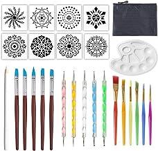 Kapmore 27PCS Mandala Dotting Tool Kit DIY Painting Tool Art Supplies for Rock Painting