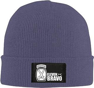 Army 10th Mountain Division 11 Bravo Veteran Unisex Warm Winter Hat Knit Beanie Skull Cap