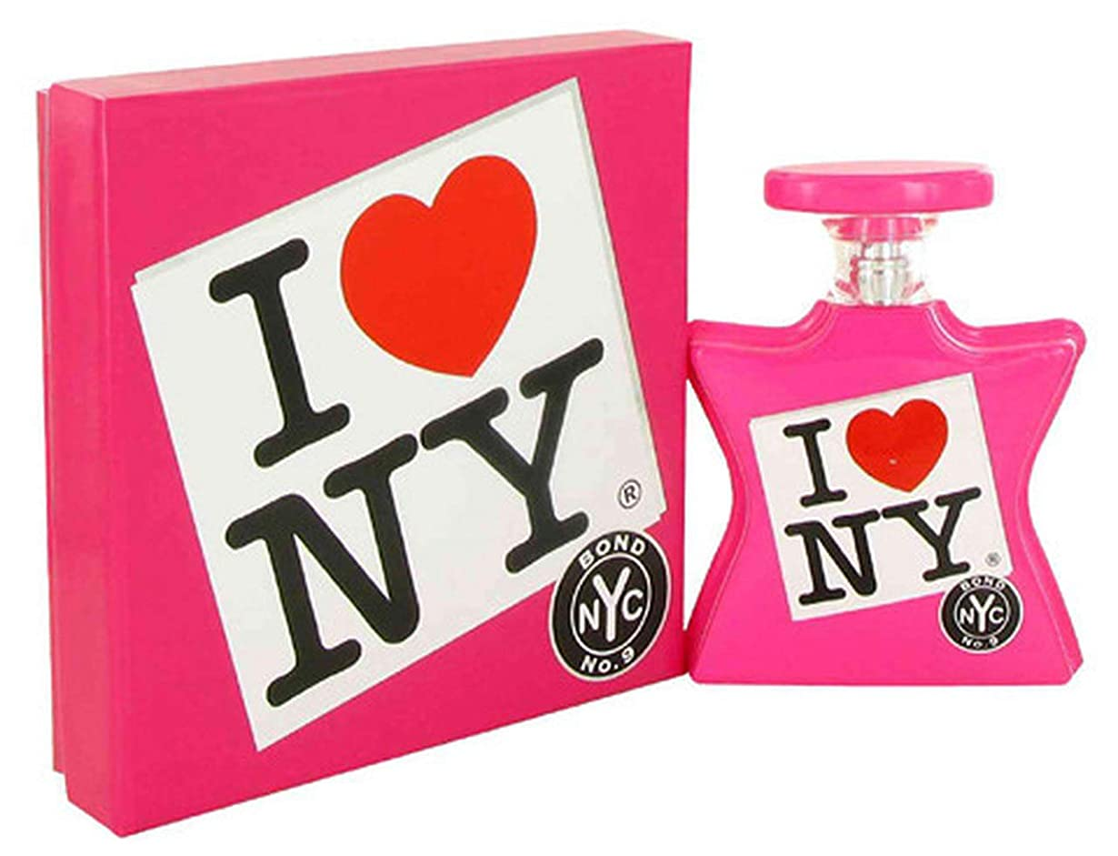 賞賛するビールアクロバットBOND No.9 I Love New York For Her 3.3 oz 100 ML EDP Spray