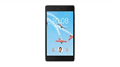 Lenovo Tab 7 Essential, 7-Inch Android Tablet, MediaTek 64-bit (Quad-Core 1.3 GHz) Processor, 1GB RAM, 16GB Storage, Black, ZA300146US